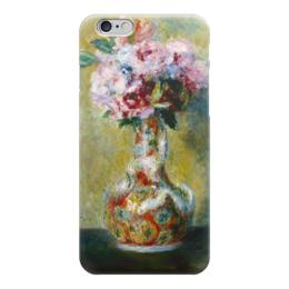 "Чехол для iPhone 6 ""Букет в вазе"" - картина, ренуар"