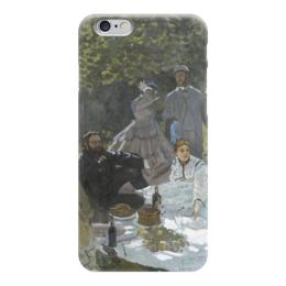 """Чехол для iPhone 6 """"Завтрак на траве (Клод Моне) 1866"""" - картина, моне"""