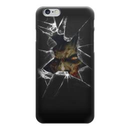 "Чехол для iPhone 6 ""Zombie Art"" - zombie, зомби, страх, ужасы, арт дизайн"