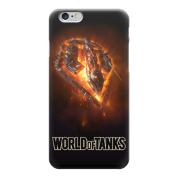 "Чехол для iPhone 6 ""World Of Tanks"" - игра, game, world of tanks, танки, wot"
