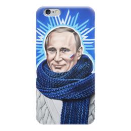 "Чехол для iPhone 6 ""Путин"" - россия, шарф, путин, putin"