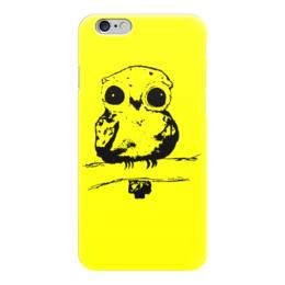 """Чехол для iPhone 6 """"Лесной житель"""" - дети, детское, ручная работа, детский рисунок, детская работа"""