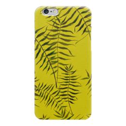 """Чехол для iPhone 6 """"Ботаника"""" - лето, зеленый, ботаника"""
