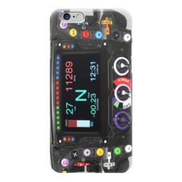 "Чехол для iPhone 6 ""Руль формулы 1"" - гонки, сочи, формула1"