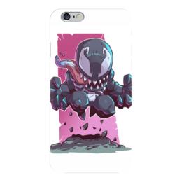 """Чехол для iPhone 6 """"Веном (Venom)"""" - комиксы, марвел, человек-паук, веном"""