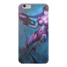 "Чехол для iPhone 6 ""Роковая вдова"" - blizzard, близзард, overwatch, овервотч, widowmaker"