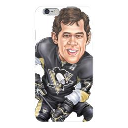 """Чехол для iPhone 6 """"Евгений Малкин в """"Питтсбурге"""""""" - хоккей, евгений малкин, питтсбург"""