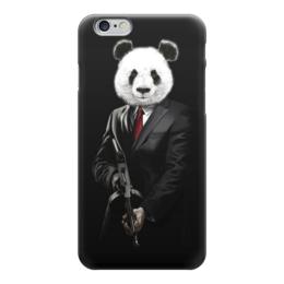 """Чехол для iPhone 6 """"PANDA MOB!!!"""" - панда, mafia, мафия, panda, mob"""