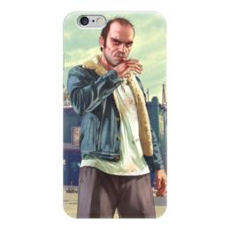 """Чехол для iPhone 6 """"Тревор из GTA"""" - grand theft auto, gta, гта, тревор"""