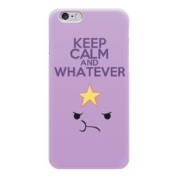 "Чехол для iPhone 6 ""Adventure Time (Время Приключений)"" - adventure time, keep calm, время приключений, принцесса пупырка"