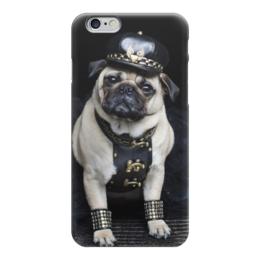 """Чехол для iPhone 6 """"Pugs """" - pug, мопс, pugs, pugpolice"""