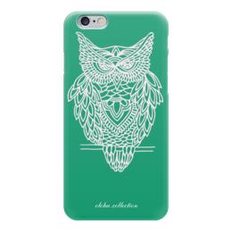 "Чехол для iPhone 6 глянцевый ""Совушка"" - арт, сова, owl, совушка"