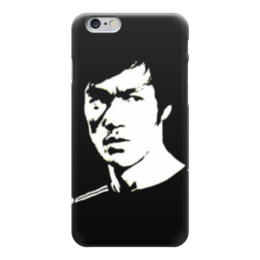 "Чехол для iPhone 6 ""Bruce black/white"" - bruce lee, ли, брюс, брюс ли, bruce"