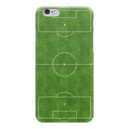 """Чехол для iPhone 6 """"Футбольное Поле"""" - футбол, football, ворота, soccer, футбольное поле"""