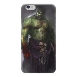 "Чехол для iPhone 6 ""Халк (Hulk)"" - комиксы, hulk, марвел, халк, баннер"