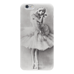 "Чехол для iPhone 6 ""Балерина Анна Павлова"" - винтаж, retro, балет, балерина, анна павлова, пуанты"