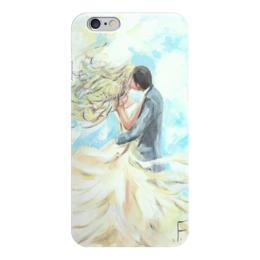 """Чехол для iPhone 6 глянцевый """"Любовь выше облаков"""" - любовь, пары, love, свадьба"""