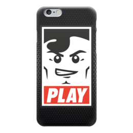 """Чехол для iPhone 6 """"Lego Play """" - lego, игрок, play, лего, играй"""