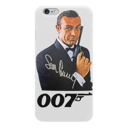 "Чехол для iPhone 6 ""James Bond"" - james bond, агент 007, шон коннери, джеймс бонд, sean connery"