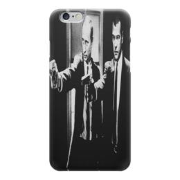 "Чехол для iPhone 6 ""Путин и Медведев"" - политика, путин, медведев"