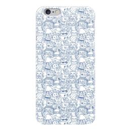 """Чехол для iPhone 6 """"Котики"""" - коты, котики"""