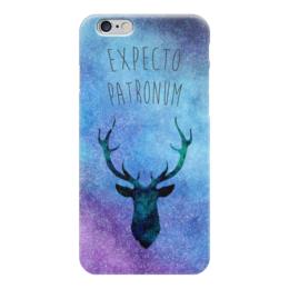 "Чехол для iPhone 6 глянцевый ""Expecto Patronum"" - гарри поттер, harry potter, хогвартс, hogwarts"