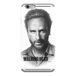 """Чехол для iPhone 6 глянцевый """"The Walking Dead Rick Grimes Andrew Lincoln"""" - thewalkingdead, rickgrimes, andrewlincoln"""