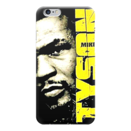 """Чехол для iPhone 6 глянцевый """"Майк Тайсон (Mike Tyson)"""" - майк тайсон, mike tyson"""