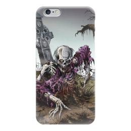 "Чехол для iPhone 6 ""Мертвец (зомби)"" - хэллоуин, zombie, зомби, скелет, мертвец"