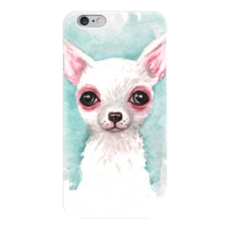 "Чехол для iPhone 6 ""Чихуахуа"" - пес, милота, чихуахуа, чихуа, чихуашка"