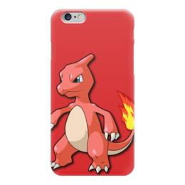 """Чехол для iPhone 6 """"Чармилион"""" - нинтендо, чармандер, покемон го, charmeleon, чаризард"""
