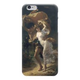 """Чехол для iPhone 6 """"Буря (Пьер Огюст Кот)"""" - кот, картина"""