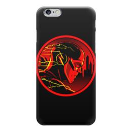 "Чехол для iPhone 6 ""Флэш (Flash)"" - flash, комиксы, dc comics, флэш, барри аллен"