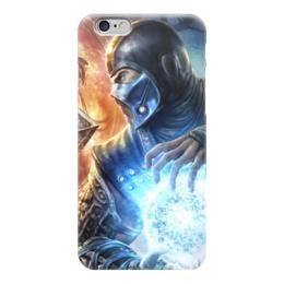 "Чехол для iPhone 6 ""Саб-Зиро (Мортал Комбат)"" - mortal kombat, мортал комбат, sub-zero, саб-зиро"