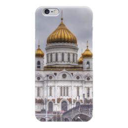 "Чехол для iPhone 6 ""Храм, Москва"" - москва, россия, архитектура, храм"