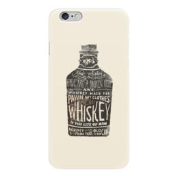 "Чехол для iPhone 6 глянцевый ""Виски"" - арт, виски, напитки, бутылка, whisky"