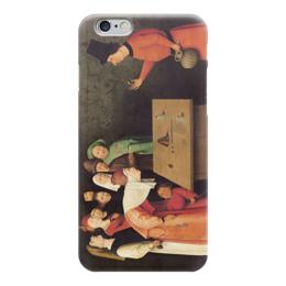 """Чехол для iPhone 6 """"Фокусник"""" - картина, босх"""