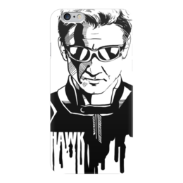 "Чехол для iPhone 6 ""Соколиный Глаз"" - комиксы, мстители, avengers, марвел, hawkeye"
