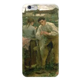 """Чехол для iPhone 6 """"Деревенская любовь"""" - картина, бастьен-лепаж"""