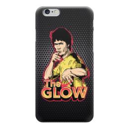 "Чехол для iPhone 6 ""Брюс Ли (The Glow)"" - bruce lee, брюс ли"