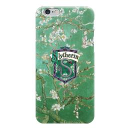 "Чехол для iPhone 6 ""Слизерин"" - гарри поттер, хогвартс, воландеморт"