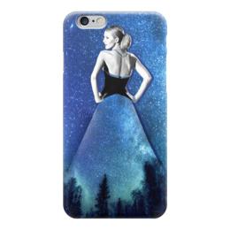 """Чехол для iPhone 6 глянцевый """"Night"""" - night, blakelively"""