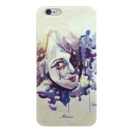 """Чехол для iPhone 6 глянцевый """"Акварель """" - арт, любовь, рисунок, грусть, печаль"""