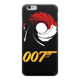 "Чехол для iPhone 6 глянцевый ""James Bond"" - шон коннери, sean connery, агент 007, james bond, джеймс бонд"