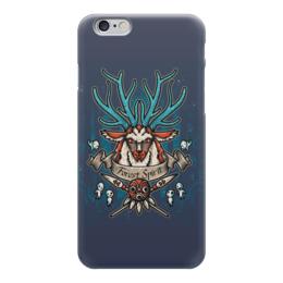 """Чехол для iPhone 6 """"Forest Spirit. Лесной Дух"""" - рисунок, олень, фэнтэзи, лесной дух"""