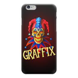 "Чехол для iPhone 6 ""Злой Шут"" - skull, череп, арт, зло, шут"