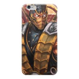 """Чехол для iPhone 6 """"Скорпион (Мортал Комбат)"""" - скорпион, mortal kombat, мортал комбат, scorpion"""