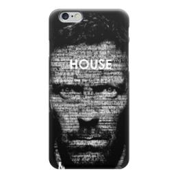 """Чехол для iPhone 6 глянцевый """"Доктор Хаус (House M.D.)"""" - доктор хаус, house md, хью лори"""