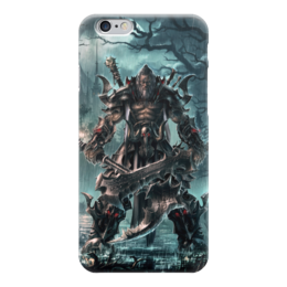 "Чехол для iPhone 6 ""Barbarian"" - blizzard, diablo, диабло, близзард, варвар"