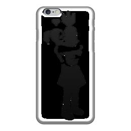 "Чехол для iPhone 6 ""Bombgirl"" - любовь, стиль, war, banksy, бэнкси"